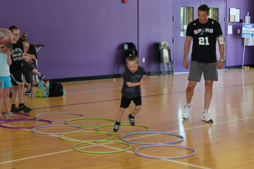 Fitness Class for Children with Down Syndrome (5/6)